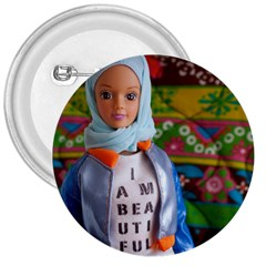 I Am Beautiful   Fulla 3  Button by tiffanygholar