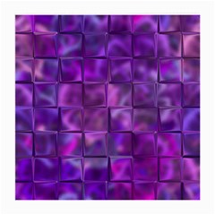 Purple Squares Glasses Cloth (medium) by KirstenStar