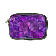 Purple Squares Coin Purse by KirstenStar