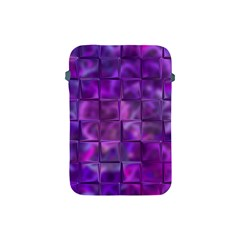Purple Squares Apple Ipad Mini Protective Sleeve by KirstenStar