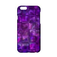 Purple Squares Apple Iphone 6 Hardshell Case by KirstenStar