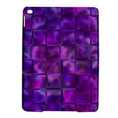 Purple Squares Apple Ipad Air 2 Hardshell Case by KirstenStar
