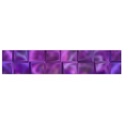 Purple Squares Flano Scarf (small) by KirstenStar