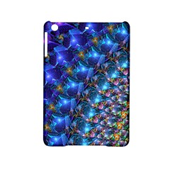 Blue Sunrise Fractal Apple Ipad Mini 2 Hardshell Case by KirstenStar