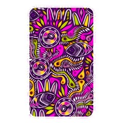 Purple Tribal Abstract Fish Memory Card Reader (rectangular) by KirstenStar