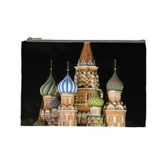 Saint Basil s Cathedral  Cosmetic Bag (large) by anstey