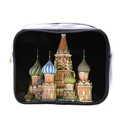 Saint Basil s Cathedral  Mini Travel Toiletry Bag (one Side) by anstey