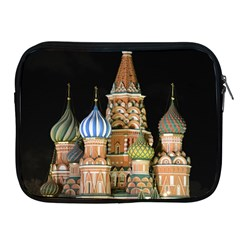 Saint Basil s Cathedral  Apple Ipad Zippered Sleeve by anstey