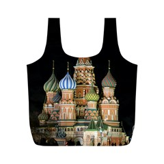 Saint Basil s Cathedral  Reusable Bag (m) by anstey
