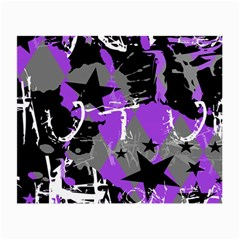 Purple Scene Kid Glasses Cloth (small) by ArtistRoseanneJones