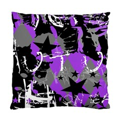 Purple Scene Kid Cushion Case (two Sided)  by ArtistRoseanneJones