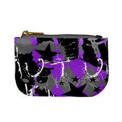 Purple Scene Kid Coin Change Purse