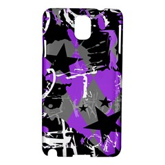 Purple Scene Kid Samsung Galaxy Note 3 N9005 Hardshell Case by ArtistRoseanneJones