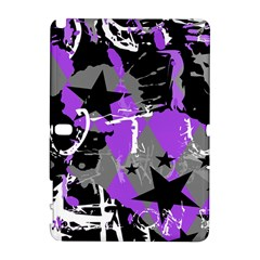 Purple Scene Kid Samsung Galaxy Note 10 1 (p600) Hardshell Case by ArtistRoseanneJones