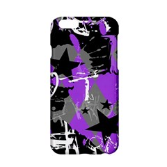 Purple Scene Kid Apple Iphone 6 Hardshell Case by ArtistRoseanneJones