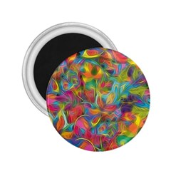 Colorful Autumn 2 25  Button Magnet by KirstenStar