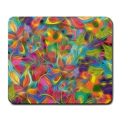Colorful Autumn Large Mouse Pad (rectangle) by KirstenStar