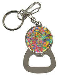 Colorful Autumn Bottle Opener Key Chain by KirstenStar