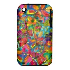 Colorful Autumn Apple Iphone 3g/3gs Hardshell Case (pc+silicone) by KirstenStar
