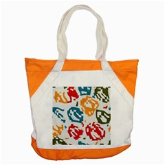 Colorful Paint Stokes Accent Tote Bag by LalyLauraFLM