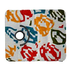 Colorful Paint Stokes Samsung Galaxy S  Iii Flip 360 Case by LalyLauraFLM