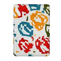 Colorful Paint Stokes Samsung Galaxy Tab 2 (10 1 ) P5100 Hardshell Case  by LalyLauraFLM