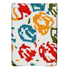 Colorful Paint Stokes Apple Ipad Air Hardshell Case by LalyLauraFLM