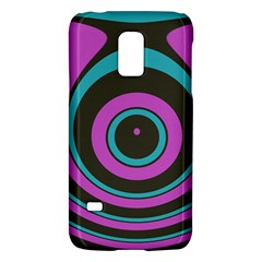 Distorted Concentric Circlessamsung Galaxy S5 Mini Hardshell Case by LalyLauraFLM