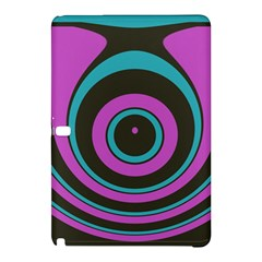 Distorted Concentric Circlessamsung Galaxy Tab Pro 10 1 Hardshell Case by LalyLauraFLM