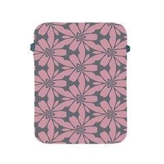 Pink Flowers Pattern Apple Ipad 2/3/4 Protective Soft Case by LalyLauraFLM
