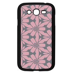 Pink Flowers Pattern Samsung Galaxy Grand Duos I9082 Case (black) by LalyLauraFLM