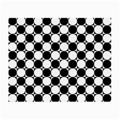 Black And White Polka Dots Glasses Cloth (small)