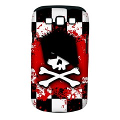 Emo Skull Samsung Galaxy S Iii Classic Hardshell Case (pc+silicone) by ArtistRoseanneJones