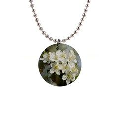 Spring Flowers Button Necklace by anstey