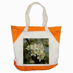 Spring Flowers Accent Tote Bag by anstey