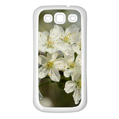 Spring Flowers Samsung Galaxy S3 Back Case (white) by anstey