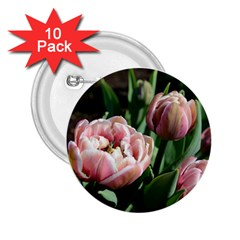 Tulips 2 25  Button (10 Pack) by anstey