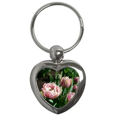 Tulips Key Chain (heart) by anstey