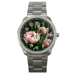 Tulips Sport Metal Watch by anstey