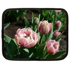 Tulips Netbook Sleeve (xl) by anstey