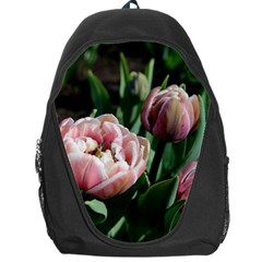 Tulips Backpack Bag by anstey