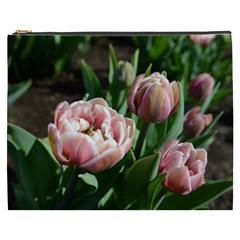 Tulips Cosmetic Bag (xxxl) by anstey