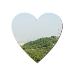 Seoul Magnet (heart) by anstey
