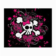 Girly Skull And Crossbones Glasses Cloth (small)