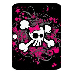 Girly Skull And Crossbones Samsung Galaxy Tab 3 (10 1 ) P5200 Hardshell Case
