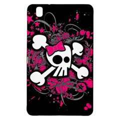 Girly Skull And Crossbones Samsung Galaxy Tab Pro 8 4 Hardshell Case
