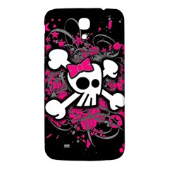 Girly Skull And Crossbones Samsung Galaxy Mega I9200 Hardshell Back Case
