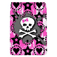 Pink Bow Skull Removable Flap Cover (s) by ArtistRoseanneJones