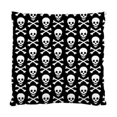 Skull And Crossbones Pattern Cushion Case (single Sided)  by ArtistRoseanneJones