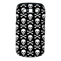 Skull And Crossbones Pattern Samsung Galaxy S Iii Classic Hardshell Case (pc+silicone) by ArtistRoseanneJones